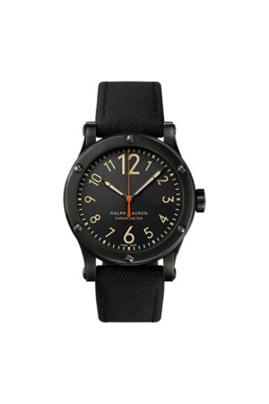 Ralph Lauren Cronometro in acciaio 39 mm