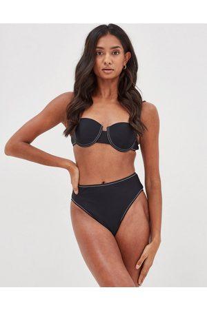 4th & Reckless Erica - Top bikini con ferretto