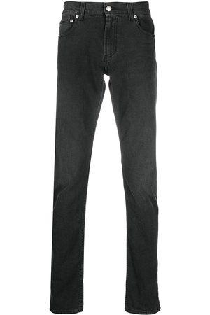 Alexander McQueen Jeans slim con ricamo