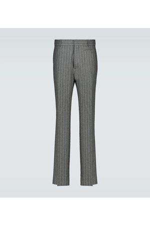 Fendi Pantaloni in flanella