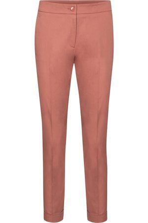 Etro Pantaloni slim in cotone a vita alta