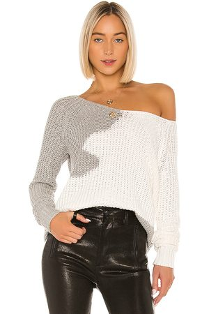 House of Harlow X REVOLVE Adrienne Pullover in - Gray. Size S (also in XS).