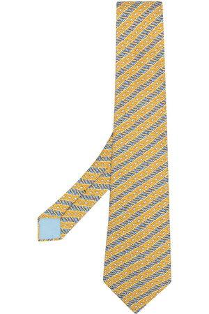 Hermès Cravatta con motivo jacquard anni 2000
