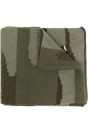 GREG LAUREN Sciarpa con stampa camouflage