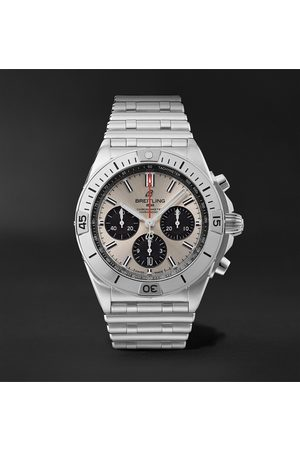 Breitling Uomo Orologi - Chronomat B01 Automatic Chronograph 42mm Stainless Steel Watch, Ref. No. AB0134101G1A1