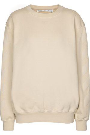 OFF-WHITE Felpa in cotone con logo