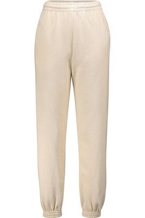 OFF-WHITE Pantaloni sportivi in cotone