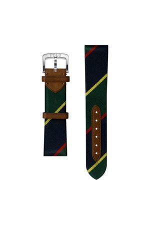 Polo Ralph Lauren Cinturino da orologio in seta a righe