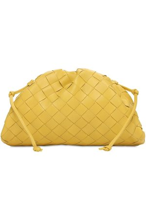 "Bottega Veneta Pochette ""the Mini Pouch Intreccio"" In Pelle"