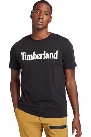 Timberland T-shirt Da Uomo Con Logo Lineare In Colore Colore
