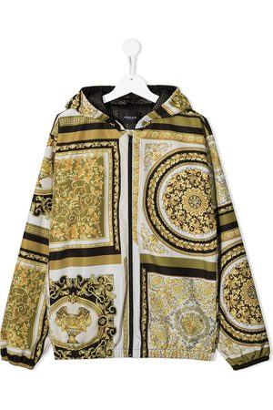 VERSACE Giacca Barocco con stampa