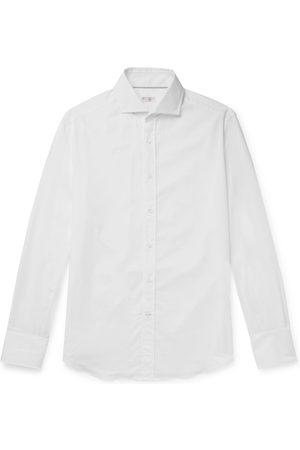 Brunello Cucinelli Slub Cotton Shirt