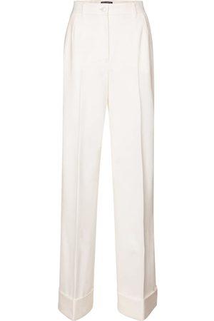 Dolce & Gabbana Pantaloni in gabardine di lana
