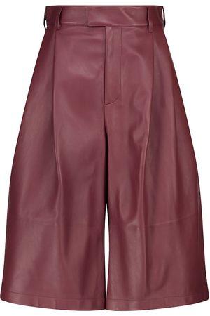 Bottega Veneta Pantaloni culottes in pelle