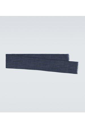 Brunello Cucinelli Uomo Sciarpe - Sciarpa in seta e lino