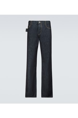 Bottega Veneta Uomo Slim & Sigaretta - Jeans in raw denim