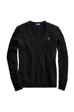 Polo Ralph Lauren Maglia in lana e cashmere a trecce