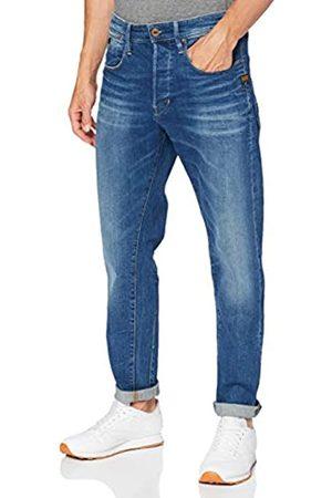 G-Star Loic Relaxed Tapered Jeans, Antic Faded Oregon B631-b820-Scarpe da Ginnastica, 34W x 32L Uomo