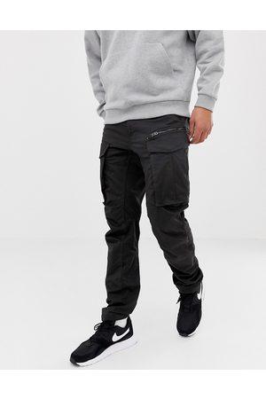 G-Star Rovic - Pantaloni cargo affusolati 3D con zip neri