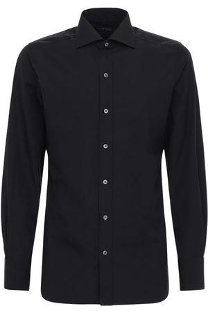 Tom Ford Camicia In Popeline Di Cotone
