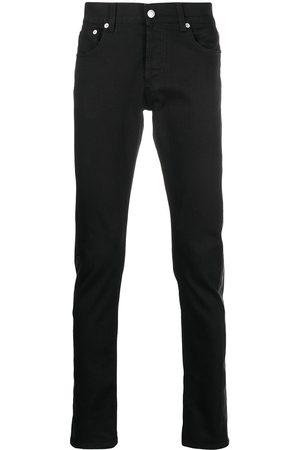 Alexander McQueen Jeans con pannelli a contrasto