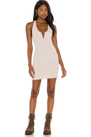 Free People X REVOLVE Ladies Night Bodycon Dress in - Ivory. Size L (also in M, S).