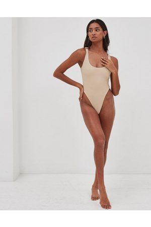 4th & Reckless Lani - Costume da bagno intero testurizzato