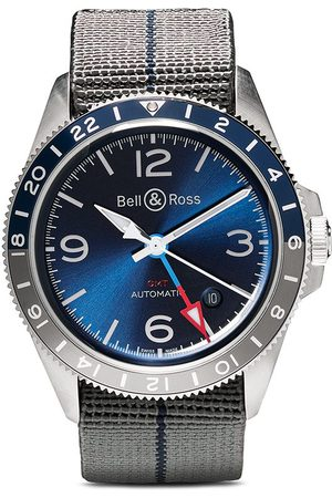 Bell & Ross Orologio BR V2-93 GMT 41mm - BLUE