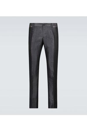Dolce & Gabbana Esclusiva Mytheresa - Pantaloni faille moiré
