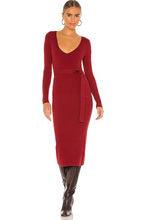 House of Harlow X REVOLVE Aaron Knit Dress in - Red. Size S (also in XL).