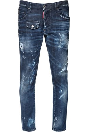 Dsquared2 Jeans Skater In Denim Di Cotone 16cm