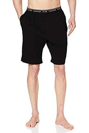 Calvin Klein Sleep Short Pantaloni Pigiama, Nero , Small Uomo