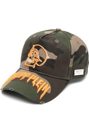 Philipp Plein Cappello da baseball con stampa camouflage