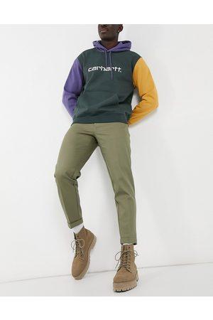 Burton Uomo Chinos - Pantaloni corti affusolati kaki