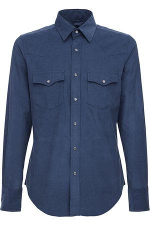 Tom Ford Camicia In Cotone Millerighe
