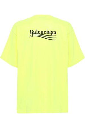 Balenciaga T-shirt In Cotone Con Logo