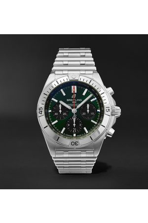 Breitling Uomo Orologi - Chronomat B01 Bentley Edition Automatic Chronograph 42mm Stainless Steel Watch, Ref. No. AB01343A1L1A1