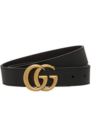 Gucci Cintura Reversibile In Pelle 3cm