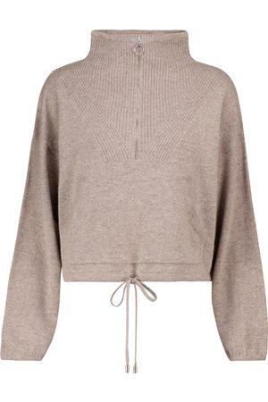 JONATHAN SIMKHAI Pullover cropped Hana in misto lana