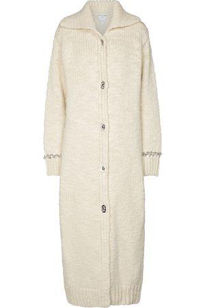 Bottega Veneta Cardigan lungo in lana