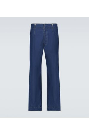 Maison Margiela Jeans a gamba ampia