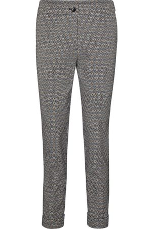 Etro Pantaloni slim a stampa in misto cotone