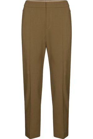 Chloé Pantaloni in lana stretch
