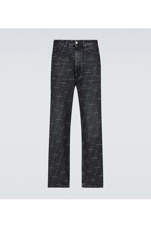 Balenciaga Jeans regular con logo