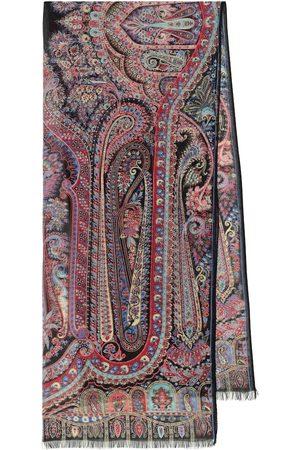 Etro Foulard a stampa paisley in seta