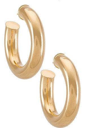 Martha Calvo Donna Orecchini - Tubular Hoops Earrings in - Metallic . Size all.