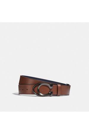 Coach Cintura sartoriale double face con fibbia, 38 mm - Size 42