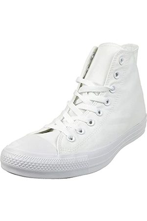 Converse Sneaker All Star Hi Canvas, Sneakers Unisex Adulto, Bianco , 41 EU