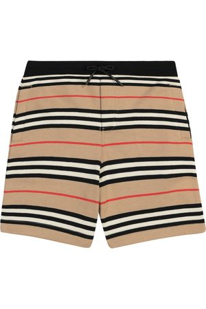 Burberry Shorts a righe in cotone