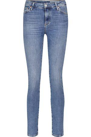 AG Jeans Jeans slim Mari a vita alta